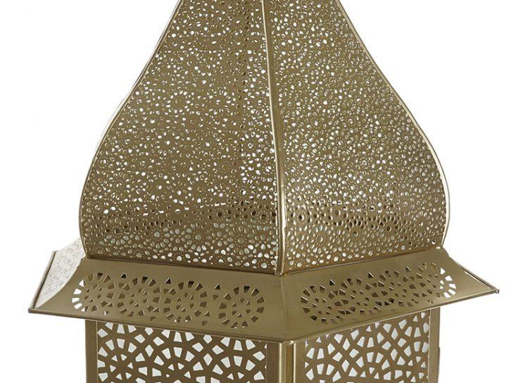 lampara-suelo-arabe-metal-calado-cristal-detalle